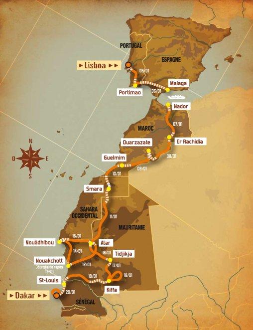 Maroc-Mauritanie-Sénégal pour Travel With A Mission Parcours_dakar_2008
